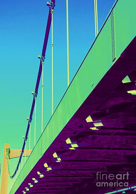 Photograph - Hennepin Avenue Bridge by A K Dayton
