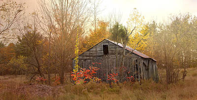 Photograph - Henniker Barn  by Betty  Pauwels