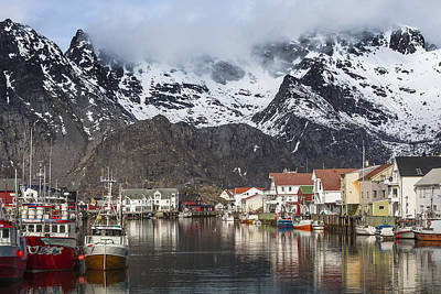Photograph - Henningsvaer by Andy Bitterer