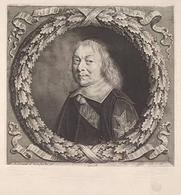 Louvre Drawing - Henri-auguste De Lom�nie, Comte De by Robert Nanteuil