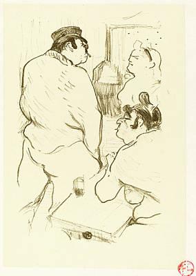 Henri De Toulouse-lautrec French, 1864 - 1901 Art Print by Quint Lox