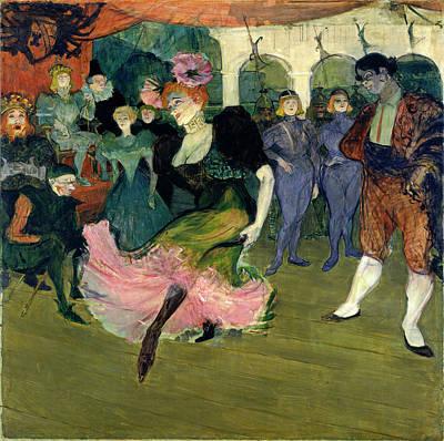 Lender Painting - Henri De Toulouse-lautrec, Marcelle Lender Dancing by Quint Lox