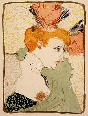 Lender Digital Art - Henri De Toulouse Lautrec - Mlle. Marcelle Lender En Buste by Georgia Fowler