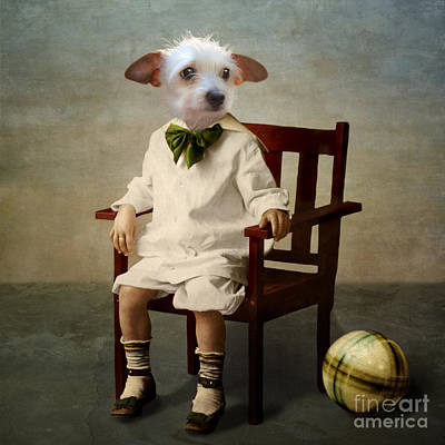 Pets Digital Art - Henri by Martine Roch