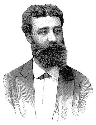 Henri Moissan Print by Science Photo Library