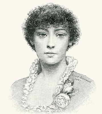 Emma Drawing - Henrietta Emma Ratcliffe Rae by English School