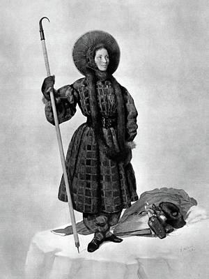 Henriette D'angeville (1794-1871) Art Print by Granger