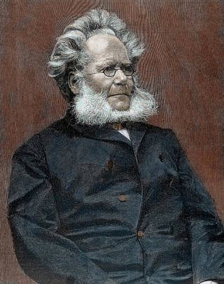 Novel Photograph - Henrik Ibsen (skien, 1828-christiania by Prisma Archivo