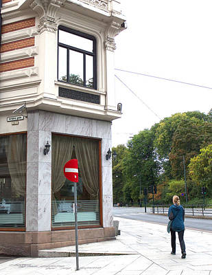 Litterature Photograph - Henrik Ibsen's Home by Hans Georg Jurgens