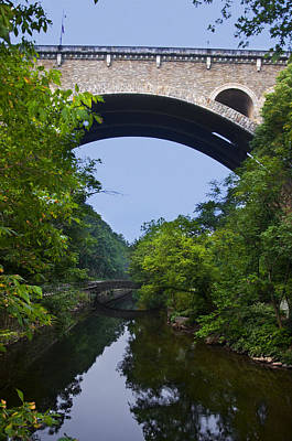 Phillies Digital Art - Henry Avenue Bridge Over The Wissahickon Creek by Bill Cannon