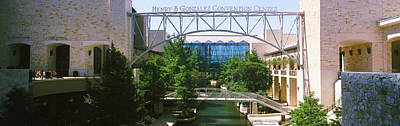 Convention Centers Photograph - Henry B. Gonzalez Convention Center by Panoramic Images