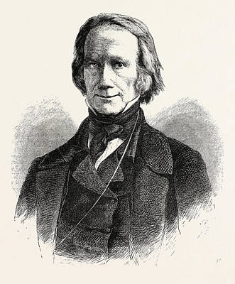 Clay Drawing - Henry Clay, 1777-1852, He Was A Lawyer, Politician by English School