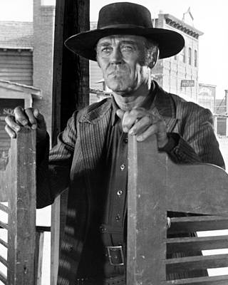 Fonda Photograph - Henry Fonda In C'era Una Volta Il West  by Silver Screen