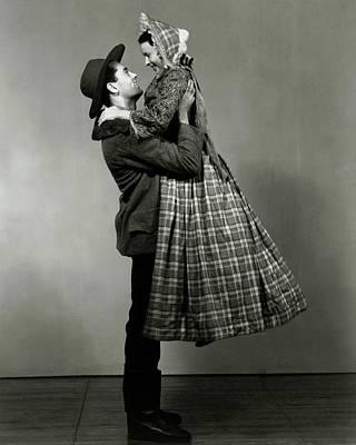 Photograph - Henry Fonda Lifting June Walker by Florence Vandamm