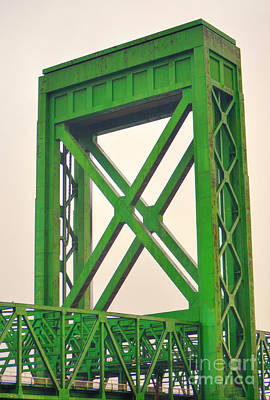 Photograph - Henry Ford Verticle Lift Bridge by Donna Greene