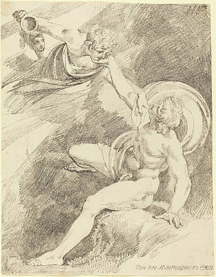Henry Fuseli Swiss, 1741 - 1825, The Rape Of Ganymede Art Print by Quint Lox