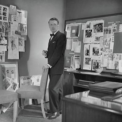 Clipping Photograph - Henry Lee Munson In A Business Suit by Horst P. Horst