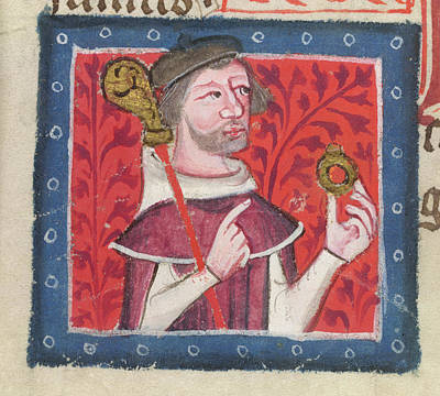 Clergy Photograph - Henry Of Blois by British Library