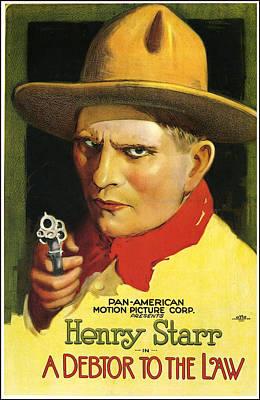 Henry Starr Poster Print by Gary Grayson