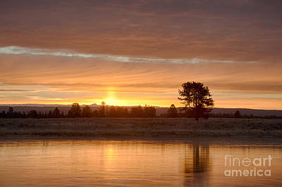 Photograph - Henrys Fork Aglow by Idaho Scenic Images Linda Lantzy