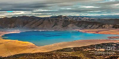 Photograph - Henrys Lake Panoraminc by Robert Bales
