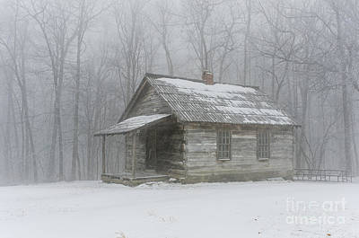 Photograph - Brush Mountain School House by Anthony Heflin