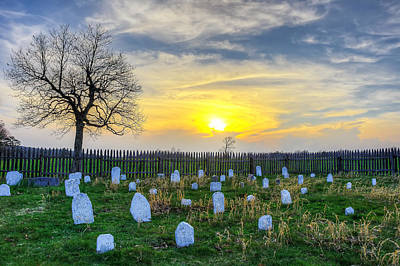 Photograph - Hensley's Cemetary by Anthony Heflin