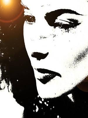 Hepburn Art Print