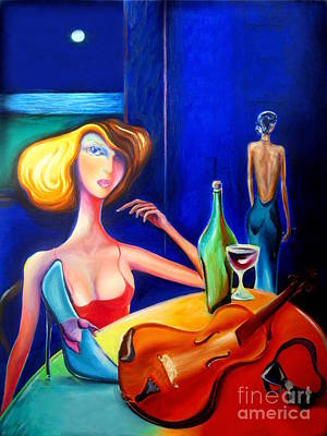 Painting - Her Elegant Vision  by Frederick  Luff