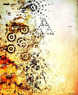 Creative Manipulation Mixed Media - Her Geometric Essence by William  Dampier
