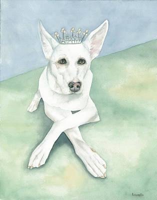 Animal Portrait Painting - Her Highness by Kimberly Lavelle