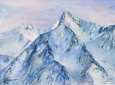 Her Mountain Majesty Original by Sharon Lazarowicz