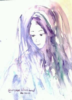 Painting - Her Name Is Nisarine by Wanvisa Klawklean
