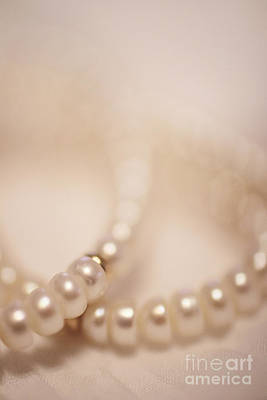 Freshwater Pearls Photograph - Her Pearls by Trish Mistric