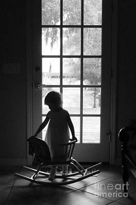 Photograph - Her Rocking Horse by Valerie Reeves