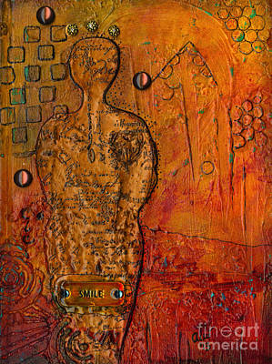 Mixed Media - Her Story by Angela L Walker