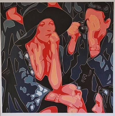 Painting - Her by Varvara Stylidou