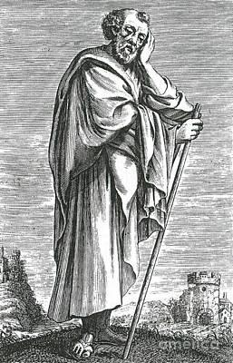 Self-taught Photograph - Heraclitus Of Ephesus, Greek Philosopher by Science Source