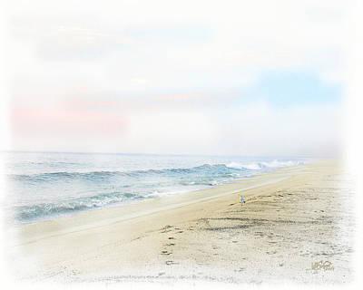 Beach Digital Art - Herald Of Dawn by William Sargent