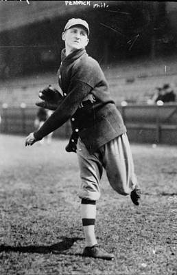 Philadelphia Athletics Photograph - Herb Pennock (1894-1948) by Granger