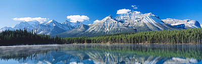 Herbert Lake Banff National Park Canada Print by Panoramic Images