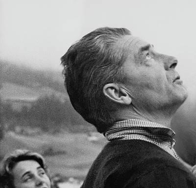 Photograph - Herbert Von Karajan by Horst P. Horst