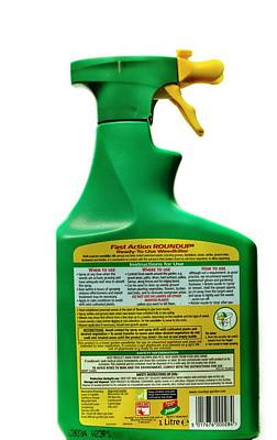 Roundup Photograph - Herbicide by Ian Gowland
