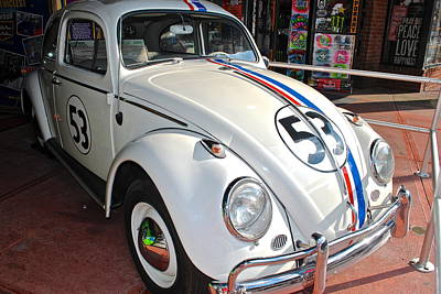 Photograph - Herbie The Love Bug by Frozen in Time Fine Art Photography