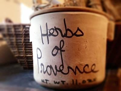 Louisiana Photograph - Herbs De Provence by Susan Bordelon