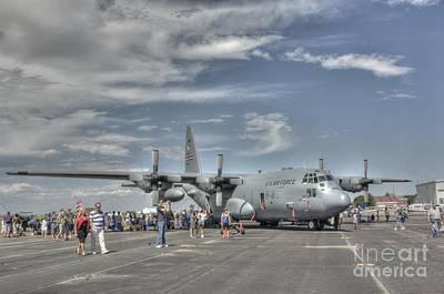 Photograph - Hercules C-130 by David Bearden