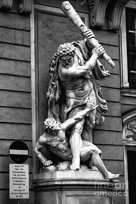 Photograph - Hercules Slaying Augeas by John Rizzuto