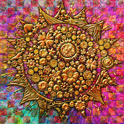 Digital Art - Here Comes The Sun by Barbara Berney