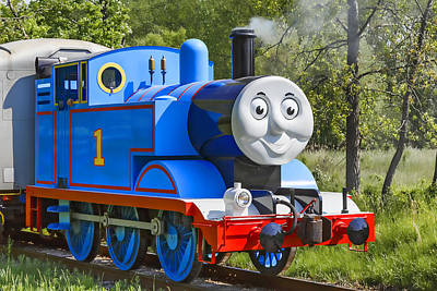 Photograph - Here Comes Thomas The Train by Dale Kincaid