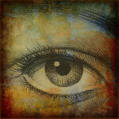 Digital Art - Here Is Looking At You by Linda Gonzalez